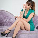 busty asian green