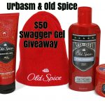Urbasm & Old Spice $50 Swagger Gel Giveaway