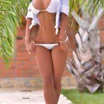 beautiful busty bikini babe