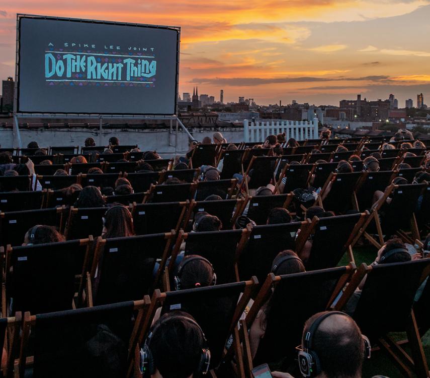 roof top cinema