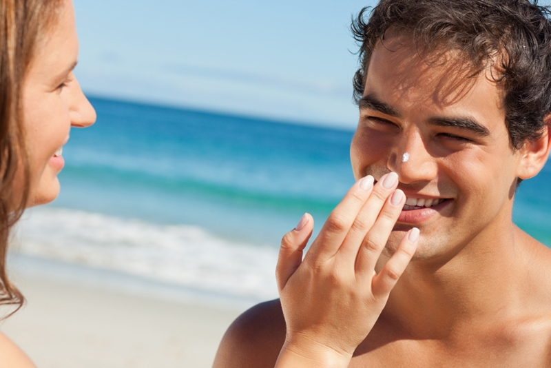 mens skincare sunscreen