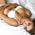 Elizabeth Turner lingerie model