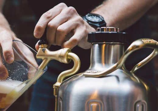 Copper Growler Awesome And Will Keep Beer Fresh For