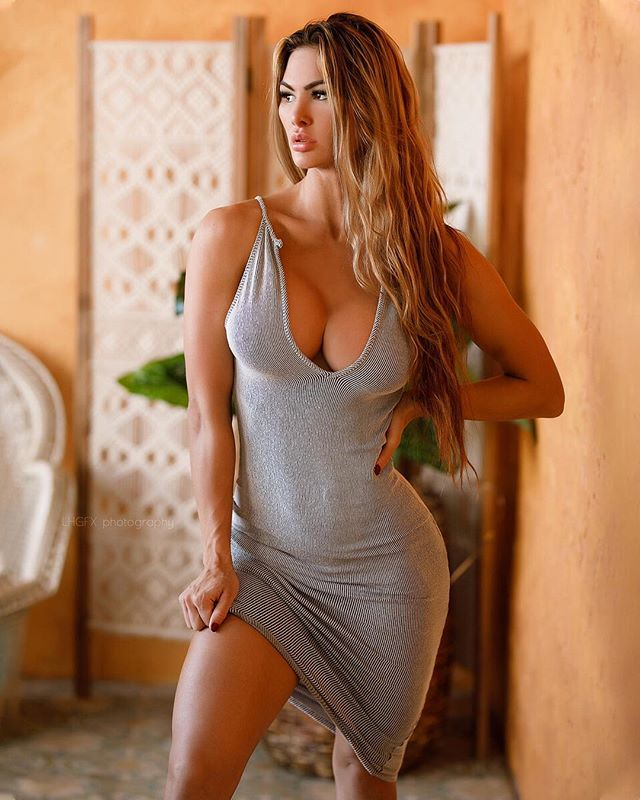 Katelyn Runck - sexy dress